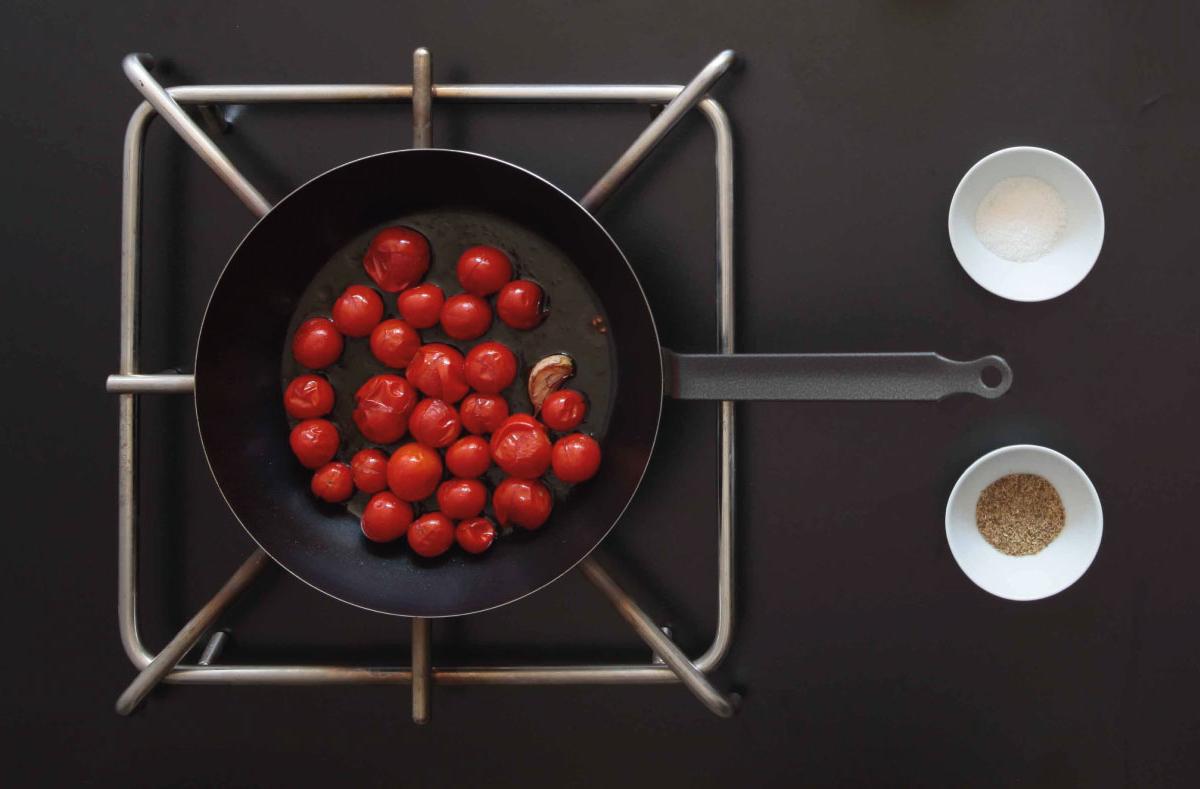 Pomodorini saltati / Salted tomatoes